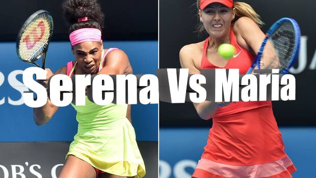Serena Vs Maria: Between the Lines