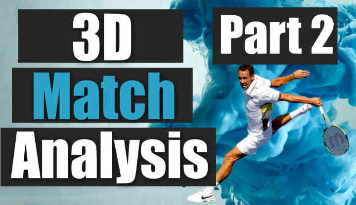 3D Match Analysis Beat the Serve Volley Player