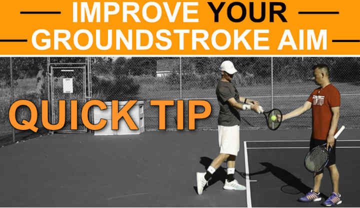 Improve Your Ground Stroke Aim