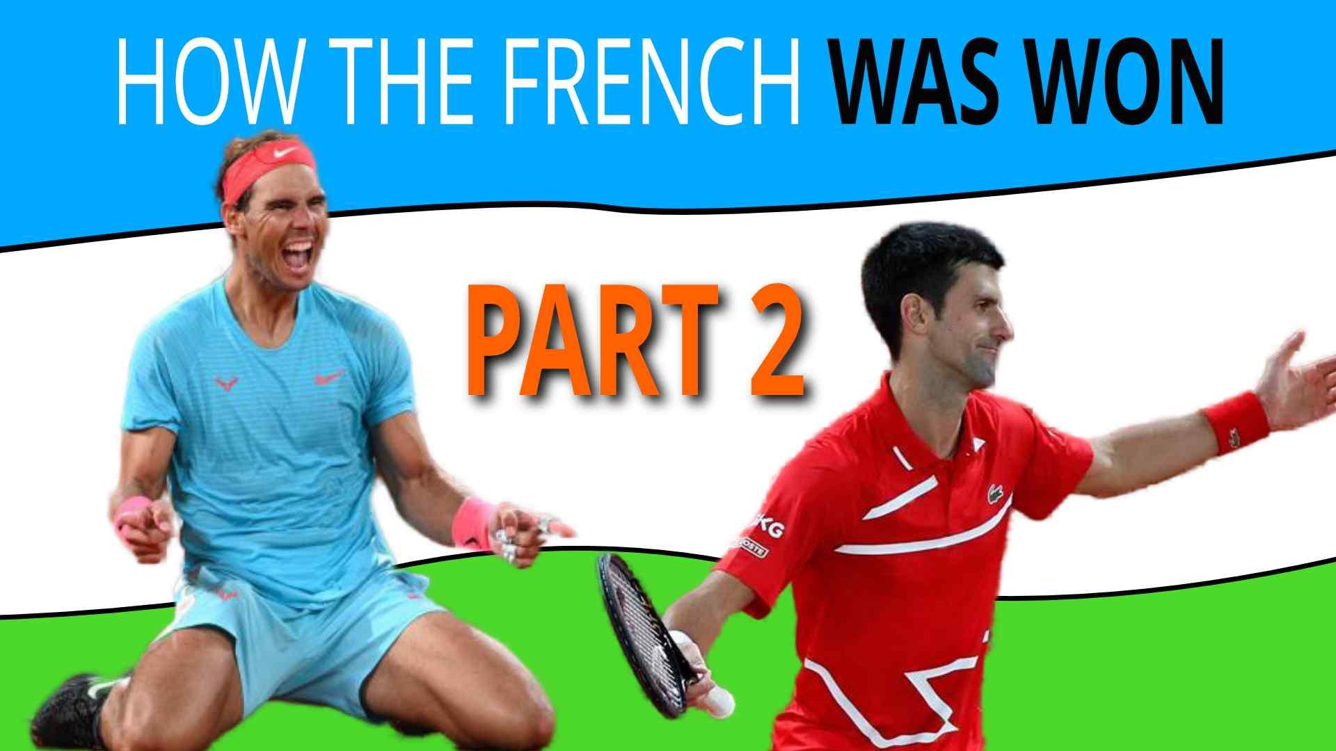 Nadal Vs Djokovic 2020 French Open Analysis Part 2