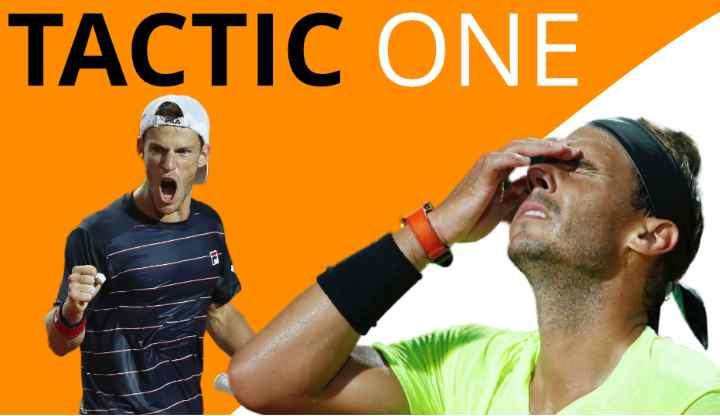 How Schwartzman beat Nadal on clay