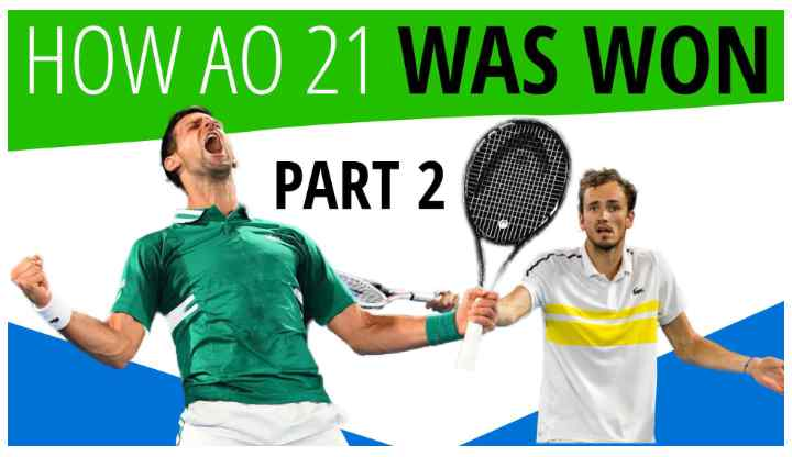 How Novak Djokovic Beat Daniil Medvedev at the 2021 Australian Open | Break You Down