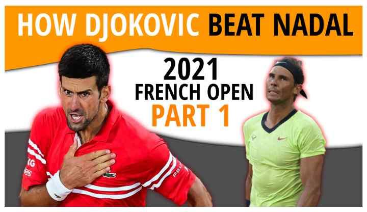 How Djokovic Beat Nadal 2021 French Open